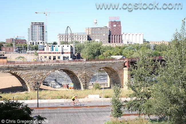 Stone Arch Bridge and Mill District