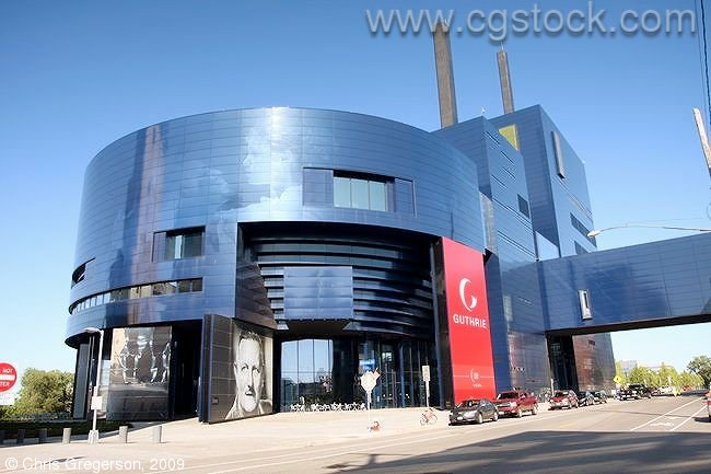 The Guthrie Theater in Downtown Minneapolis