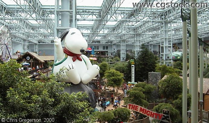 Camp Snoopy from Observation Deck