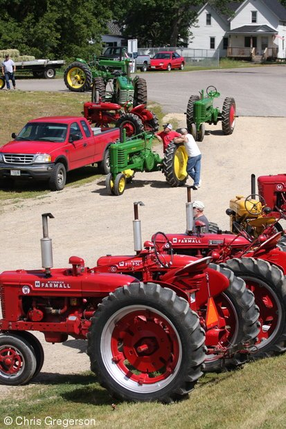 Old Fashioned Tractors, Tractor Pull