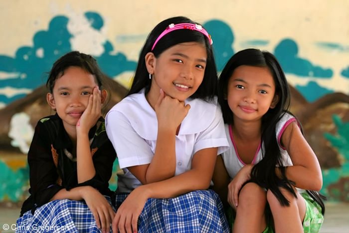 Elementary School Students, Siteo Pader