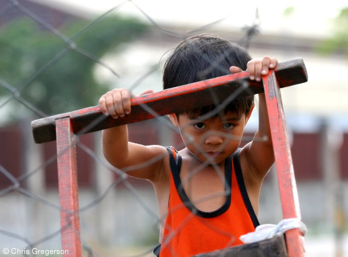 Young Boy in Angeles City