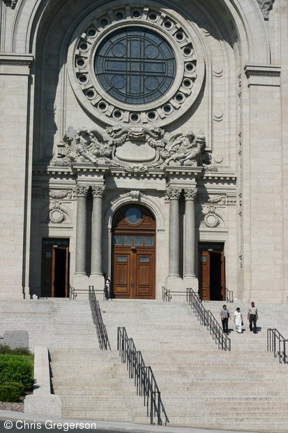 Entrance to the Cathedral of St. Paul