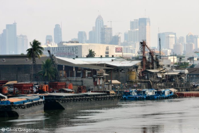 Makati Skyline from the Pasig River