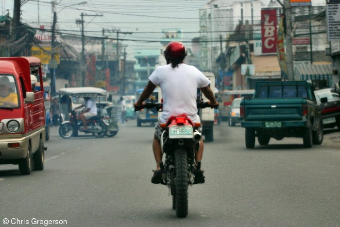 Motorcycle Rider, Angeles City