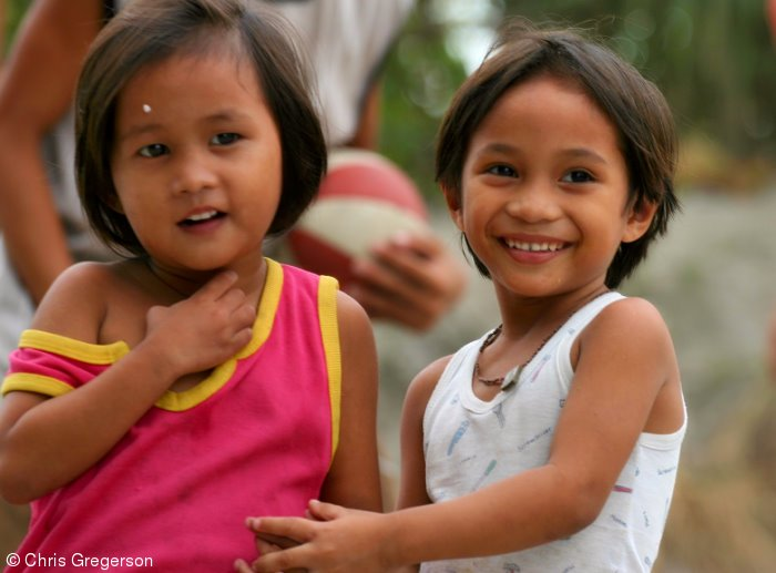 Apple and Angel, Children in Angeles City