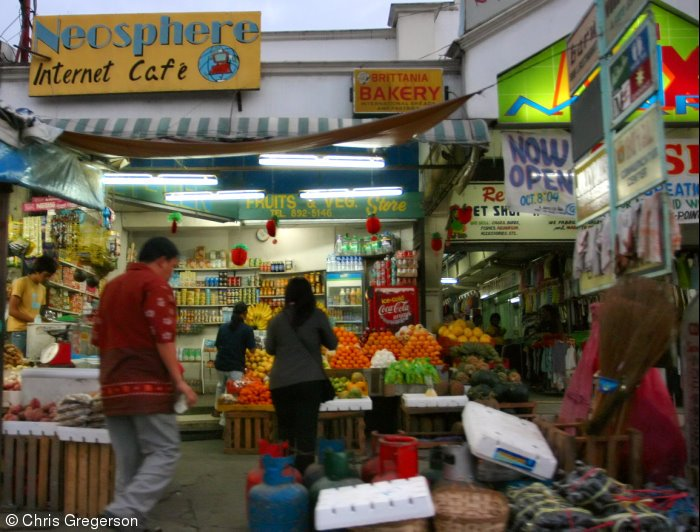 Market in Angeles City