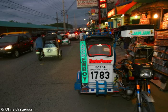 Trike at Night, Fields Avenue, Angeles City