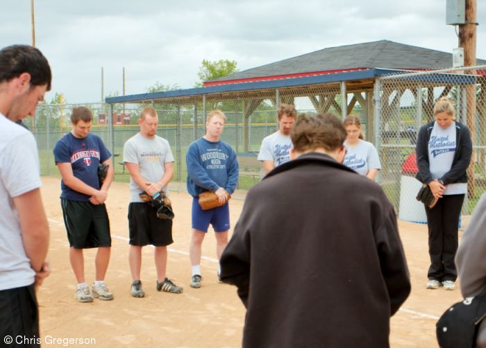 Short Prayer Before Softball Game, Hatfield Park