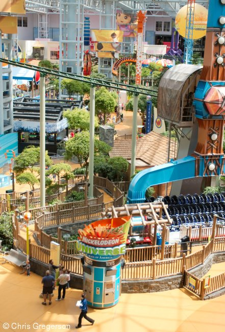 Nickelodeon Universe at the Mall of America