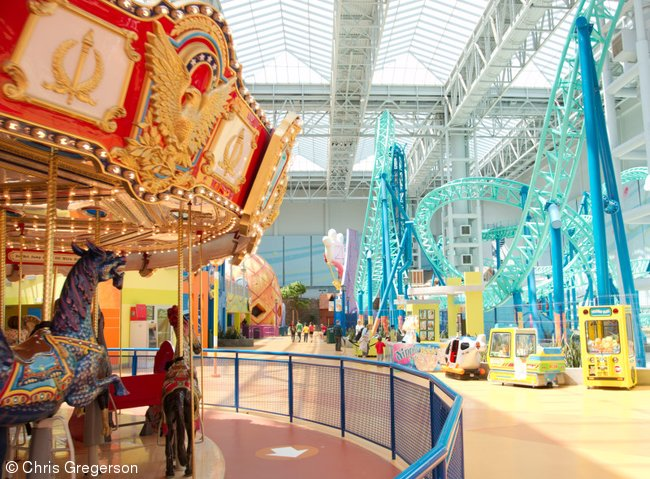 Carousel and Roller Coaster, Nickelodeon Universe