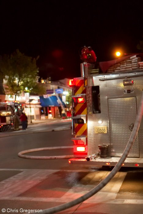 Fire at Champs Sports Bar on Knowles Avenue