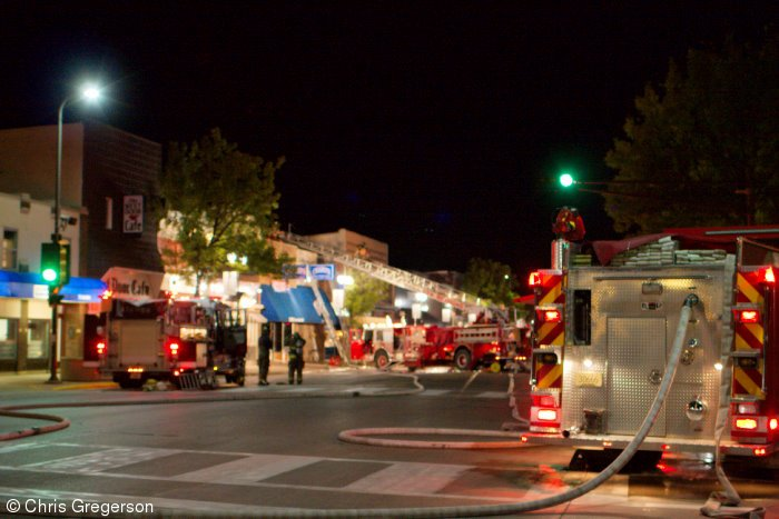 Multiple Fire Engines on Knowles Avenue, New Richmond