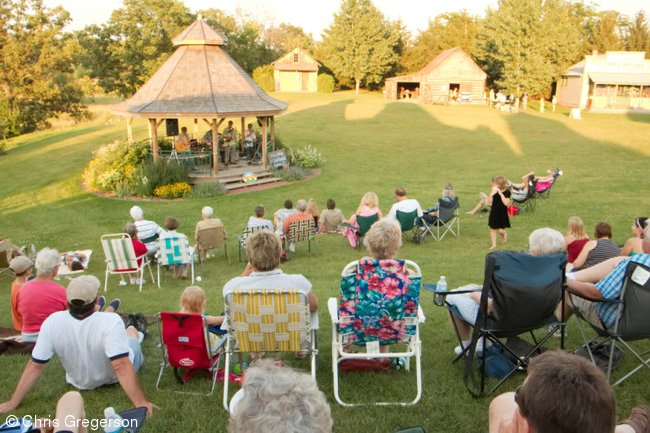 Outdoor Music Performance, New Richmond Heritage Center