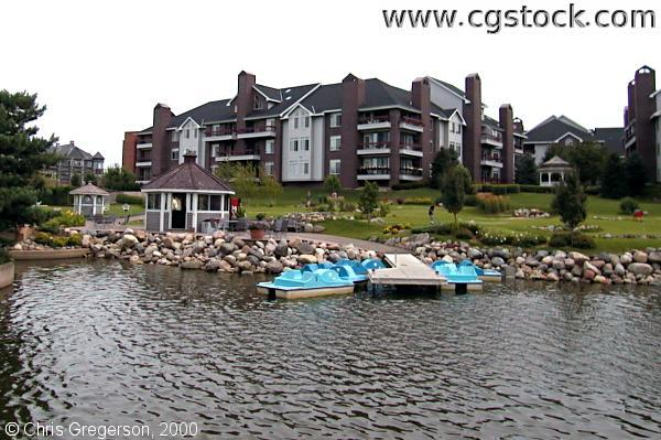 Centennial Lake Paddleboats