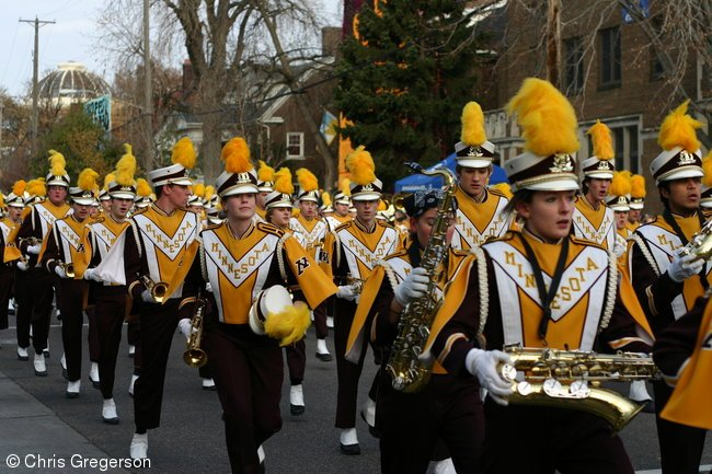 Minnesota Marching Band, Homecoming Parade