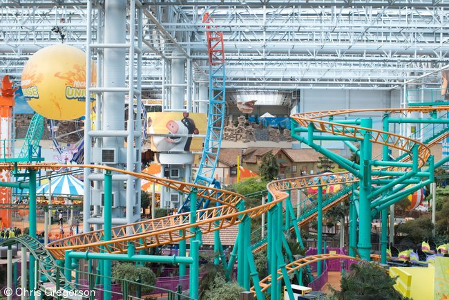 Nickelodeon Universe Roller Coaster, Mall of American