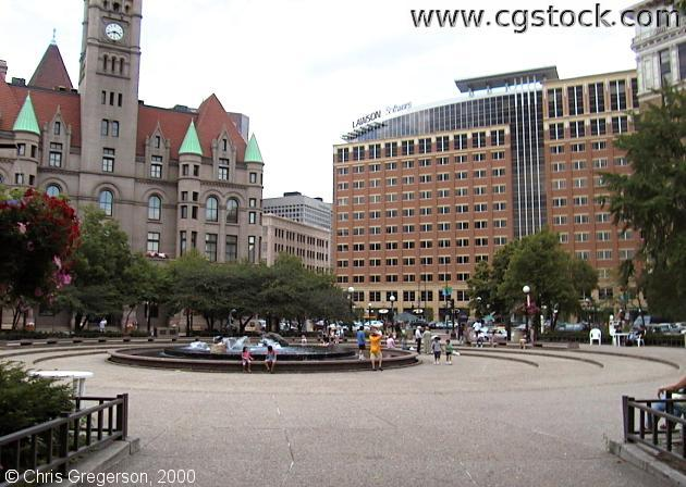 Rice Park in Downtown St.Paul