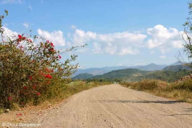 The Road Leading to Las Ud in Ilocos Norte