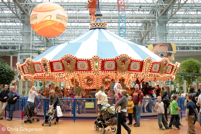 Carousel at Nickelodeon Universe, Mall of America