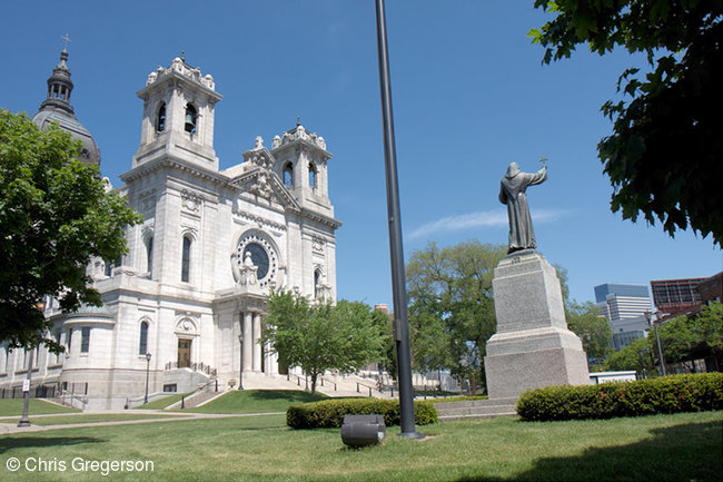 St. Mary's Basilica on Hennepin Avenue