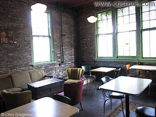 Mill City Coffee Shop Interior