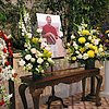 Marc's funeral, 2003